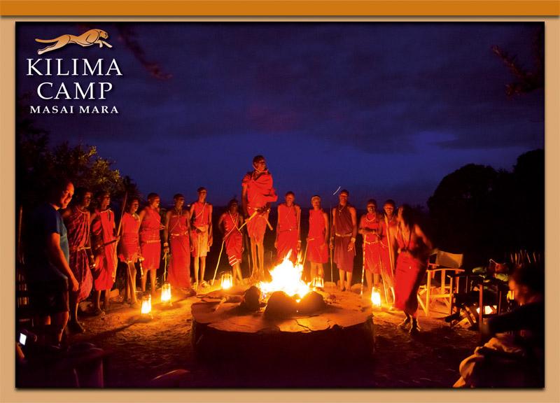 Postcard Kilima Camp 3