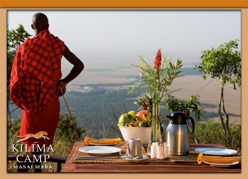Postcard Kilima Camp 5