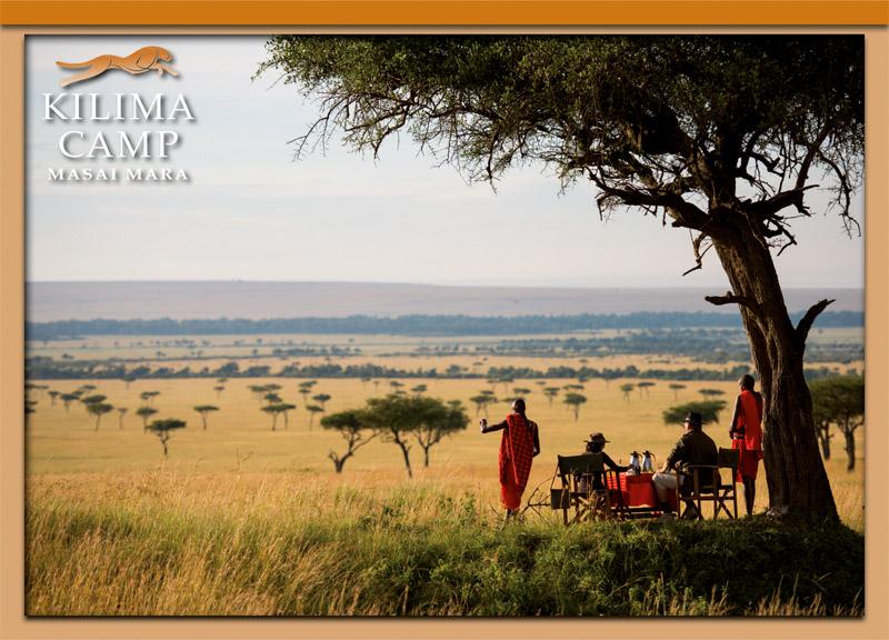 Postcard Kilima Camp 6